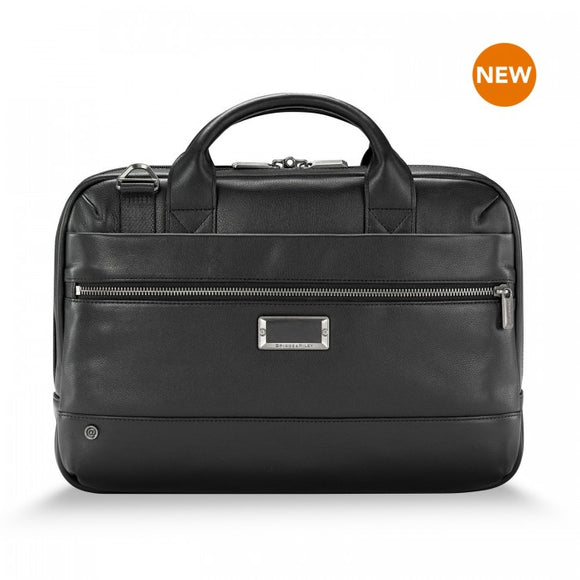 Briggs & Riley @work: Slim Brief (Leather)