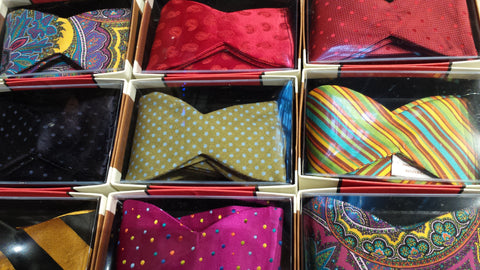 Hot Bow Ties for Cool Easy Evenings!