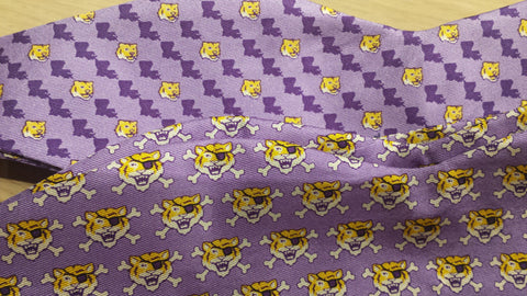 Louisiana Icons, LSU and Their Tiger Bow Tie