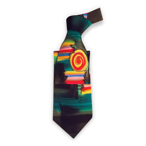 Hand Painted Tie 1
