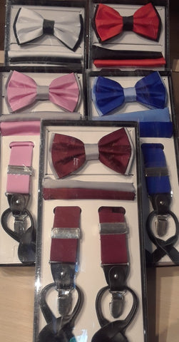 Get Set, Matching Bow Ties and Single Suspenders for Dancing the Nite Away!