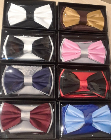 Bow Ties, for the Beuax and A Matching Pocket Square