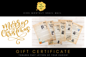 Post From The Past Gift Vouchers