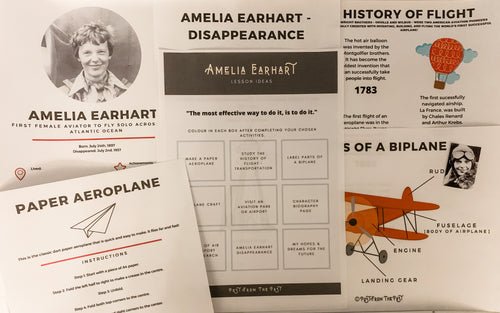 FREE Amelia Earhart Subscriber Downloads