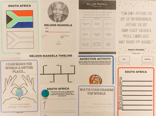 FREE Nelson Mandela Subscriber Downloads