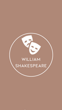 Load image into Gallery viewer, William Shakespeare Letter