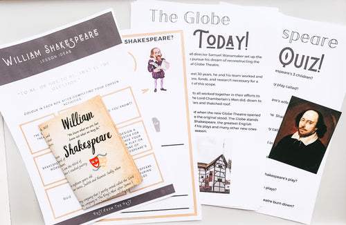 William Shakespeare FREE Subscriber Downloads