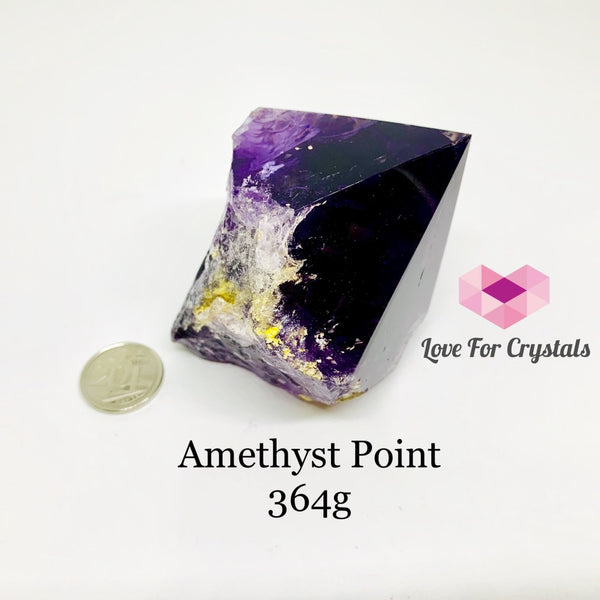 Amethyst Raw Point (Uruguay) 364G