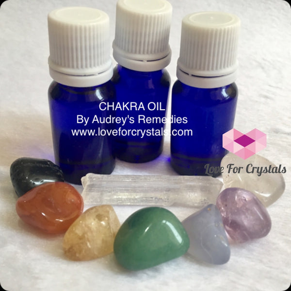 Chakra High Vibrational Oil By Audreys Remedies (10Ml) Essential Oils