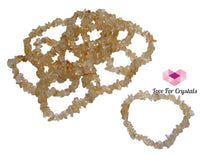 Citrine Chip Bracelet For Prosperity (Aaa Quality) Bracelets & Bangles