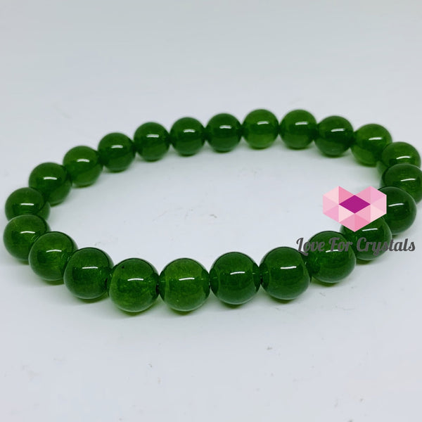 Jade Gemstone Energy Bracelet (Good Energy) Taiwan 8Mm