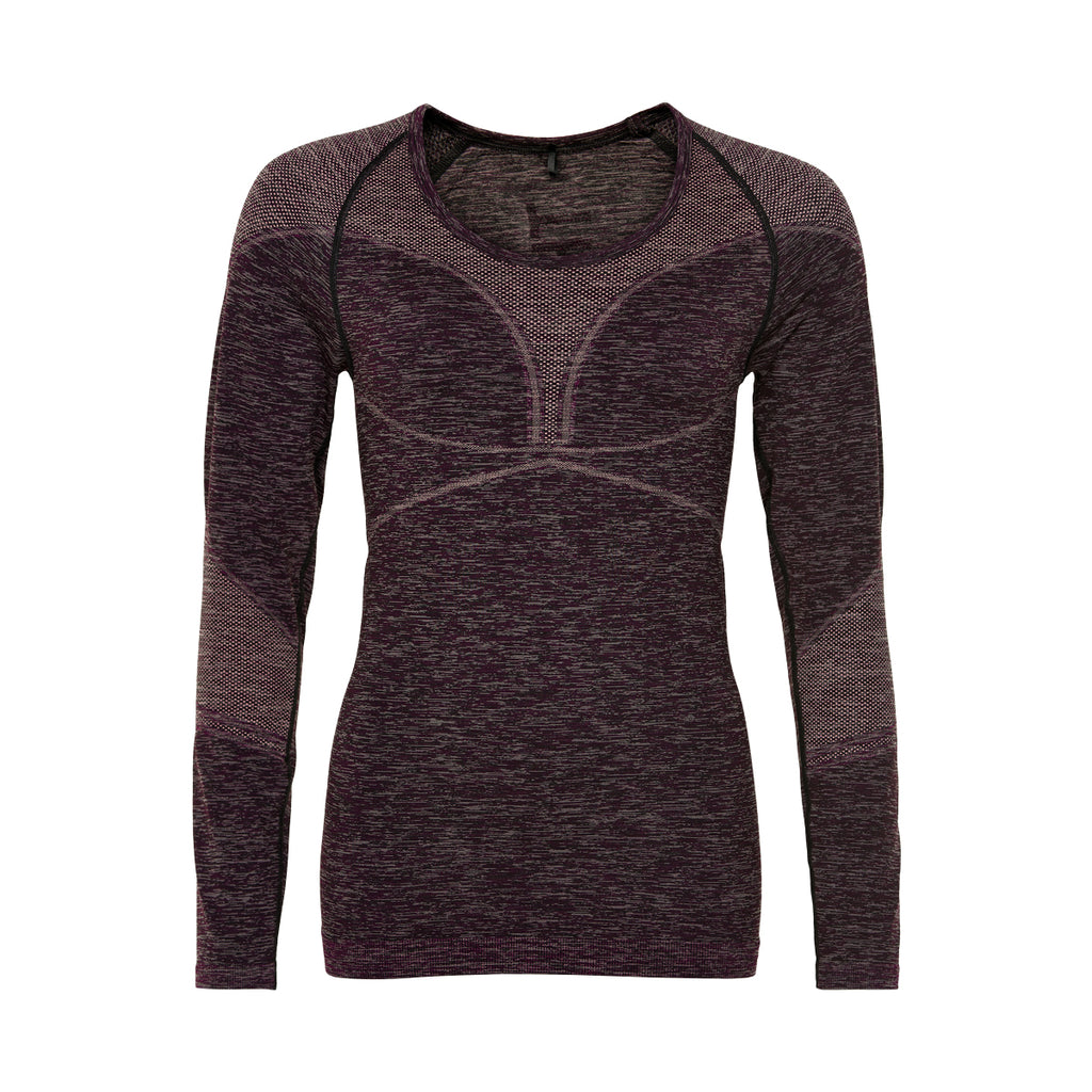 THE NEW PURE - PURE BODYDRY L_S TEE GRAPE WINE - THE NEW PURE
