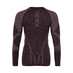 PURE Bodydry longsleeve tee grape wine-THE NEW PURE-THE NEW PURE
