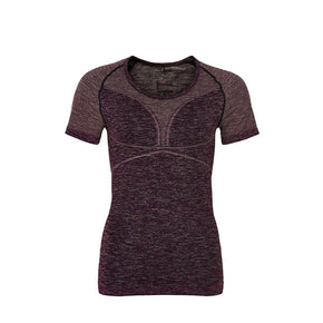PURE Bodydry shortsleeve tee grape wine-THE NEW PURE-THE NEW PURE