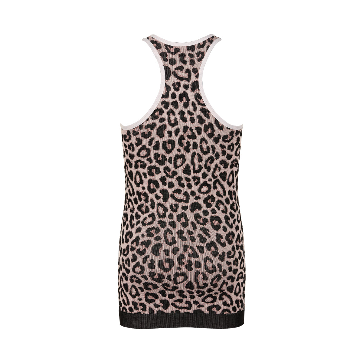 PURE Cheetah tank top-THE NEW PURE-THE NEW PURE