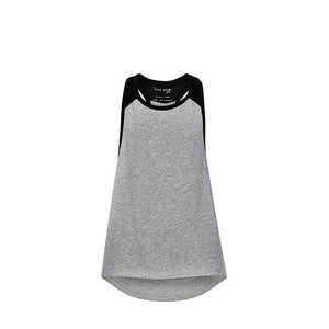 PURE Loose tank top - LIGHT GREY MELANGE-THE NEW PURE-THE NEW PURE