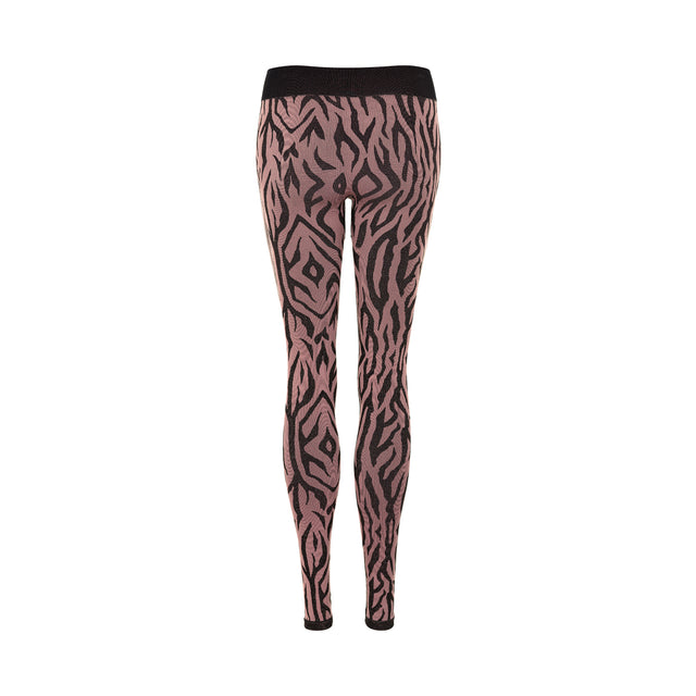 PURE Mezebra Leggings w - WINETASTING-THE NEW PURE-THE NEW PURE