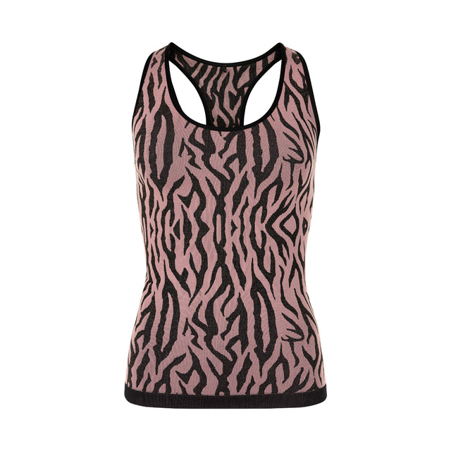 PURE Mezebra Tank Top w - WINETASTING-THE NEW PURE-THE NEW PURE