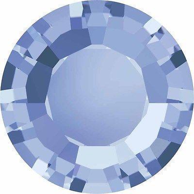 1128 Swarovski® Chatons & Round Stones Table / Double Sided-Swarovski Chatons & Round Stones-Light Sapphire-SS29 (6.2mm) - Pack of 25-Bluestreak Crystals