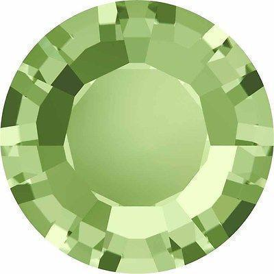 1128 Swarovski® Chatons & Round Stones Table / Double Sided-Swarovski Chatons & Round Stones-Peridot-SS29 (6.2mm) - Pack of 25-Bluestreak Crystals