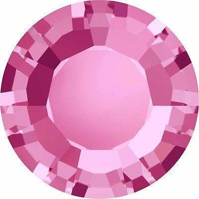 1128 Swarovski® Chatons & Round Stones Table / Double Sided-Swarovski Chatons & Round Stones-Rose-SS29 (6.2mm) - Pack of 25-Bluestreak Crystals