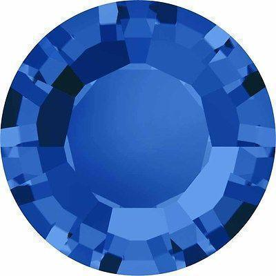 1128 Swarovski® Chatons & Round Stones Table / Double Sided-Swarovski Chatons & Round Stones-Sapphire-SS29 (6.2mm) - Pack of 25-Bluestreak Crystals