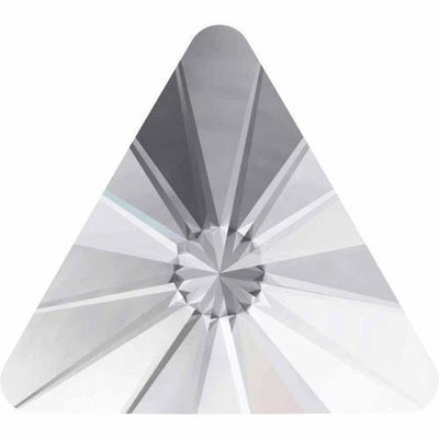 2716 Swarovski® Hotfix Crystals Flatback Rivoli Triangle-Swarovski Flatback Crystal Shapes Hotfix-Crystal-5mm - Pack of 10-Bluestreak Crystals