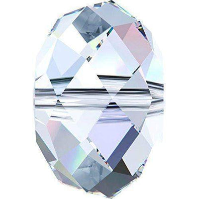 5040 Swarovski® Crystal Beads Briolette 12-18mm-Swarovski Beads Shaped-Crystal AB-12mm - Pack of 2-Bluestreak Crystals