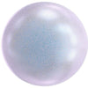 5818 Swarovski® Pearls Round Half Drilled Crystal Iridescent Dreamy Blue Pearl