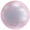 5818 Swarovski® Pearls Round Half Drilled Crystal Iridescent Dreamy Rose Pearl