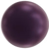 5818 Swarovski® Pearls Round Half Drilled Crystal Elderberry Pearl