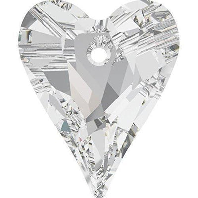 6240 Swarovski® Pendant Wild Heart-Swarovski Pendants-Bluestreak Crystals