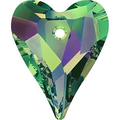6240 Swarovski® Pendant Wild Heart-Swarovski Pendants-Crystal Vitrail Medium-27mm - Pack of 1-Bluestreak Crystals