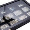 Crystal Dream Mix of Swarovski® Flatback Crystals No Hotfix-Swarovski Flatback Crystals Mixed Packs-Bluestreak Crystals