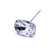 Swarovski® Crystal Flower Pins Cushion-Swarovski Flower Pins-Crystal-27x18mm - Pack of 16 (Wholesale)-Bluestreak Crystals