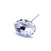 Swarovski® Crystal Flower Pins Oval