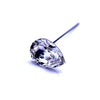Swarovski® Crystal Flower Pins Pear