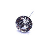 Swarovski® Crystal Flower Pins Round-Swarovski Flower Pins-Crystal-25mm - Pack of 16 (Wholesale)-Bluestreak Crystals