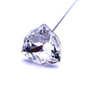 Swarovski® Crystal Flower Pins Trilliant-Swarovski Flower Pins-Crystal-24mm - Pack of 16 (Wholesale)-Bluestreak Crystals