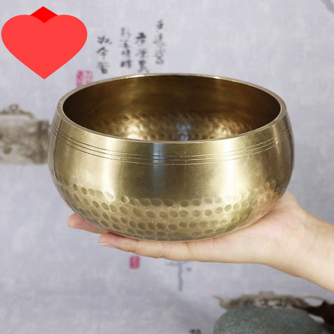 Tibetan Bowl Singing Bowl Wall Dishes Tibetan Yoga Singing Meditation Bowl Decorative-wall-dishes Buddhism Gift Home Decor Craft - Dealfactor Canada