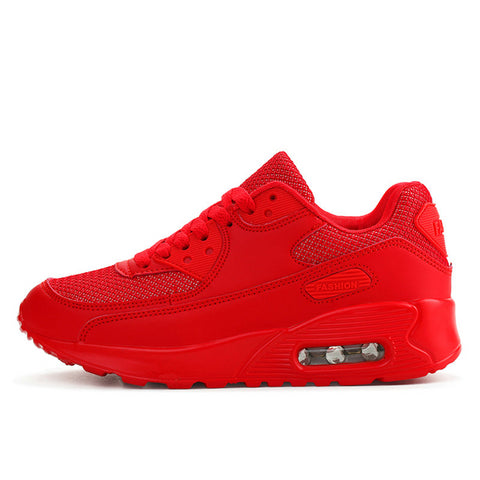 LudBA Originals® Unisex Red Running Shoes Sneakers Lightweight And Breathable - Dealfactor Canada