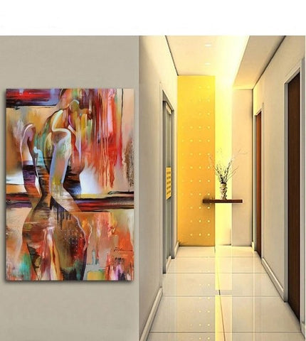 Wall Art Canvas Print Nordic Canvas Painting Fashion Sexy Figure Picture Wall Art 60X100cm