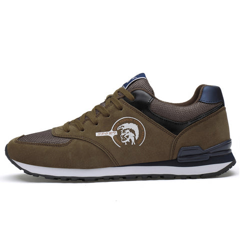 - LudBA Originals© Men's Genuine Leather Sneakers Running Shoes