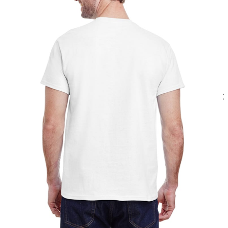 3 Pack- Crew Nect Men's Conventional Comfortable Cotton Plain White Blank T - SHIRT 100% Soft Cotton