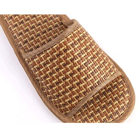 Straw Bamboo Style Slippers