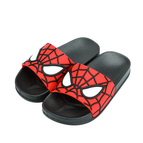 Kids Spider Man Cartoon Funny Flip Flops - Dealfactor Canada