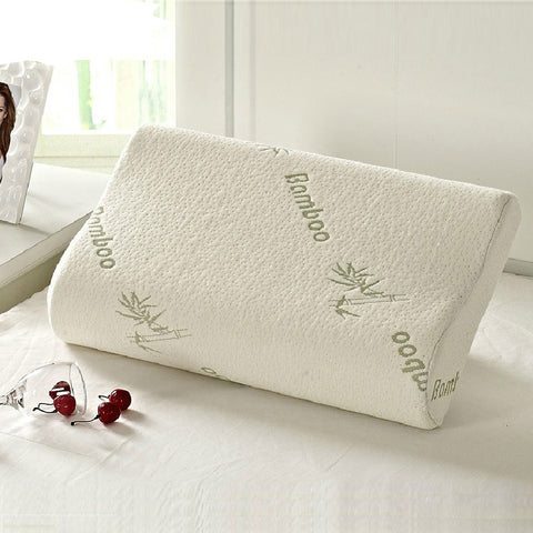 Bamboo Memory Foam Orthopedic Pillow