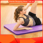 Non-Slip Yoga Mat Sport Gym Soft Pilates Foldable for Body Building Exercises - Dealfactor Canada