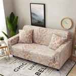 Elastic Material Slipcovers Stretch Sofa Cover for Living Room Sectional Couch Sectional Couch Armchair Cover Single