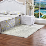 New Faux Wool Sofa Carpet Mat Whole Wool Cushion Living Room Bedroom Long